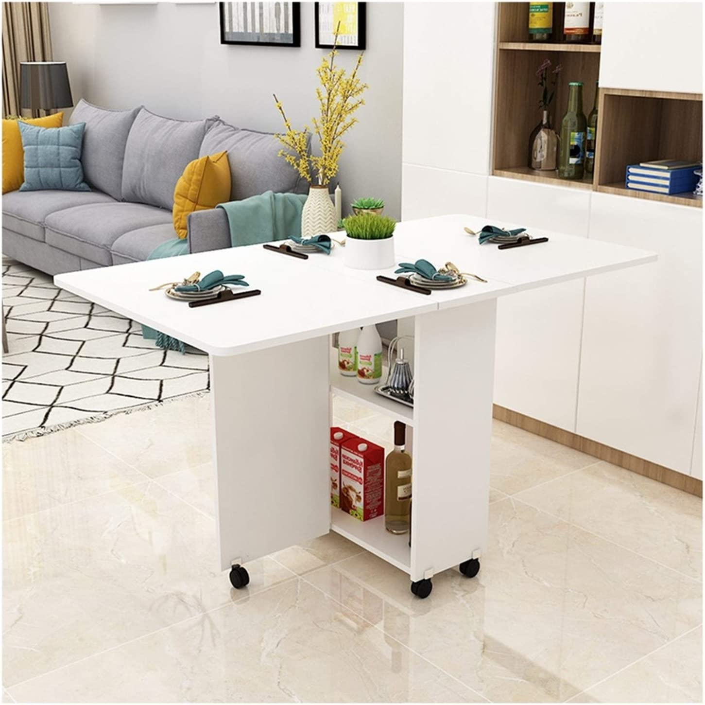 Foldable Drop Max 55% OFF Leaf free shipping Dining Kitchen Lo Multifunction Stable Table