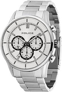 [ポリス]POLICE 腕時計 RUSH ラッシュ クロノグラフ シルバーダイアル メンズサイズ [並行輸入品]