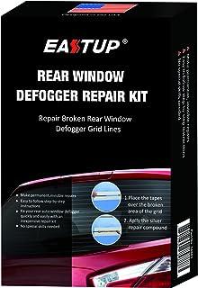 EASTUP Kit de reparacion de El desempañador de la luneta Trasera Red Line