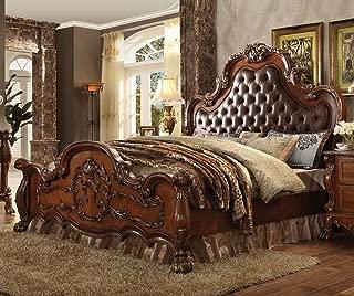 ACME Dresden Cherry Oak Eastern King Bed