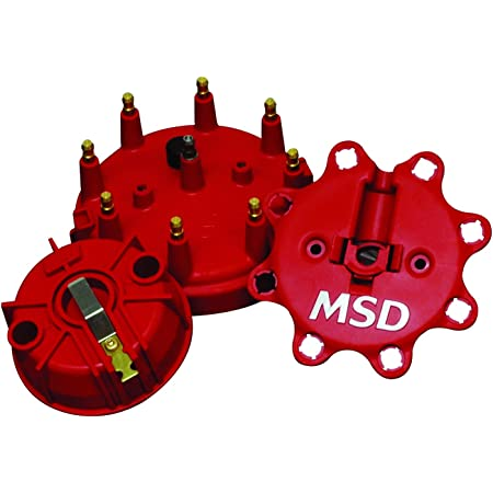 MSD Ignition 84336 Distributor Cap And Rotor Kit