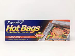 Reynolds Large Hot Bags Foil Bags Extra Heavy Duty