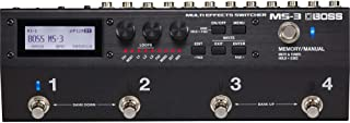 BOSS Multi-Effects Switcher Guitar Pedal (MS-3)