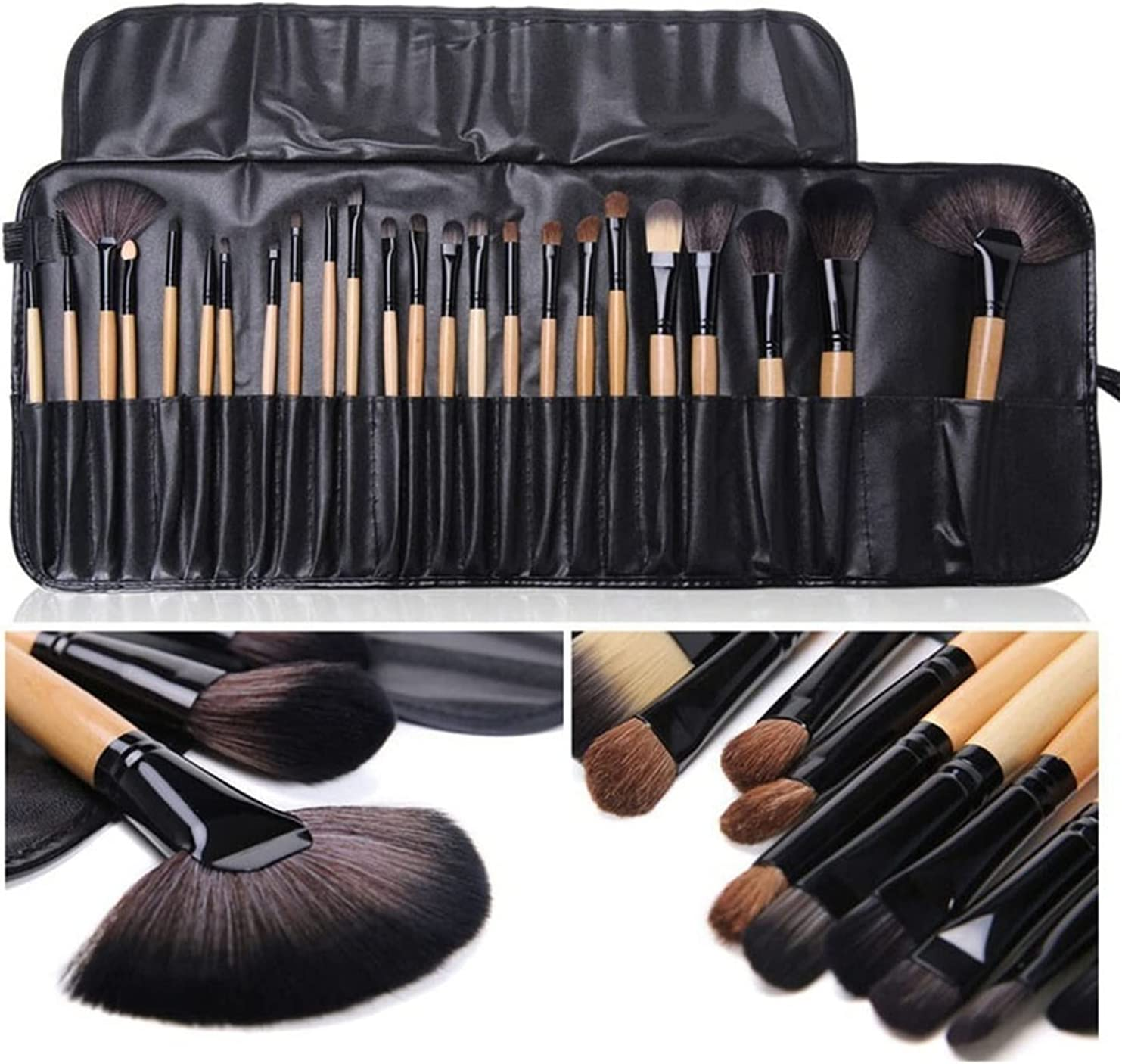 Gift Bag of 24 pcs OFFicial mail order Makeup Sets outlet Brush Cosmetics Professional Brus