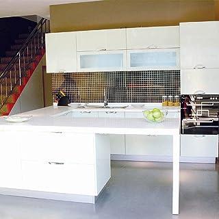 Vinilo Pegatina Muebles de Cocina, PVC Engomada Autoadhesivo
