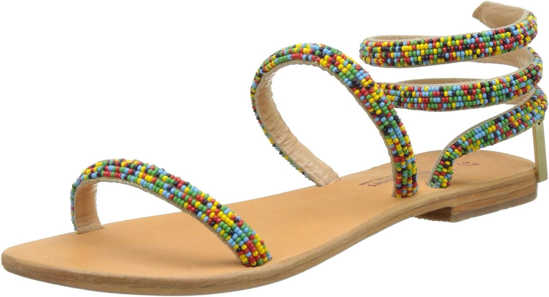LES TROPEZIENNES par M BELARBI Womens Olga Flat Sandals
