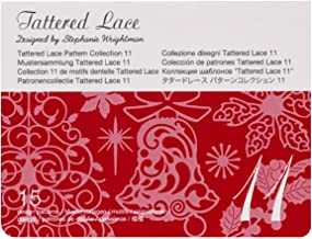 Brother CATTLP11 ScanNCut Series Tattered Lace 11 Pattern Collection, White