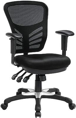 YJYDD Computer Chair Office Chair Ergonomic Computer Mesh Desk Chair Adjustable Armrests
