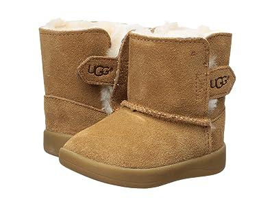 UGG Kids Keelan (Infant/Toddler) (Chestnut) Girls Shoes