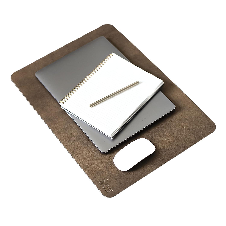 Personalized Leather unisex Desk latest Pad. Mat. Des Monogrammed