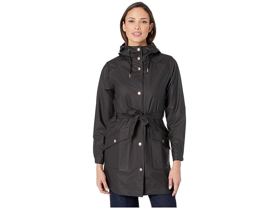 Helly Hansen Kirkwall II Raincoat (Black) Women
