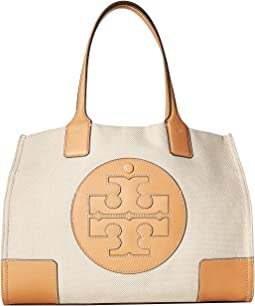 7306492d4d06 Natural. 45. Tory Burch. Ella Canvas Mini Tote