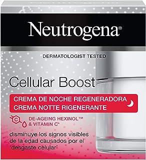 Neutrogena Cellular Boost Regenererende anti-aging nachtcrème met vitamine C voor gezicht en hals, 50 ml