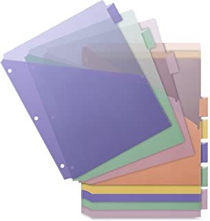 Business Source Double Pocket Index Dividers (32373)