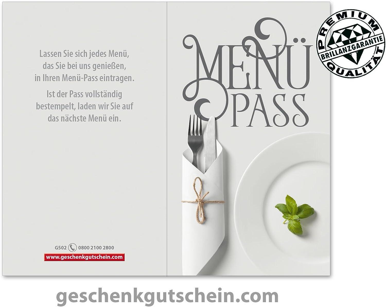 200 Stk. Menü-Pässe für die Gastronomie Gastronomie Gastronomie G502 B06XSKMCXL | Günstige Bestellung  875284