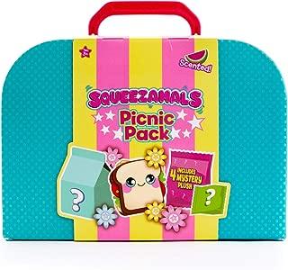 Squeezamals, Picnic Pack, 5 Pc