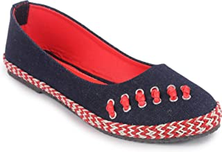 Shoe Lab Red Ballerinas