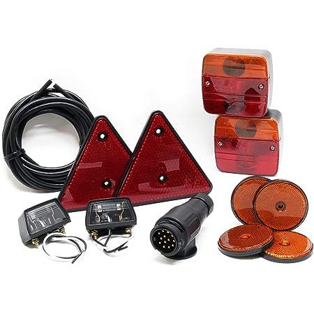 R/ücklicht-Set mit Metallgeh/äuse 12 V f/ür IHC Mc Cormick Traktoren 23 423 353 453 D323