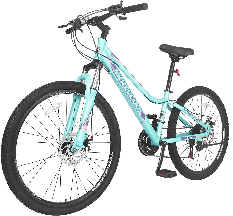 日本 日本正規代理店品 MOPHOTO Mountain Bike for Mens Womens Speeds Adults Disc 21 Bra