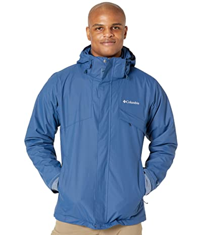 Columbia Bugabootm II Fleece Interchange Jacket (Night Tide/Collegiate Navy Heather) Men