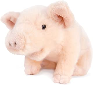 VIAHART Perla The Pig | 11 Inch Stuffed Animal Plush Piglet | by Tiger Tale Toys