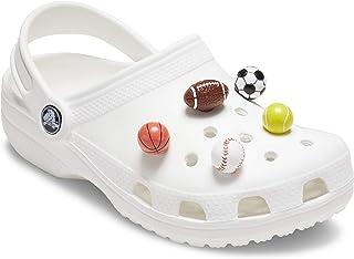 Crocs Jibbitz Shoe Charm 5-Pack, Sports, Small