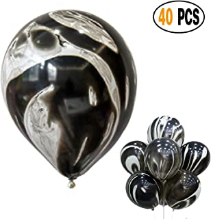 Best black and white marble balloons Reviews