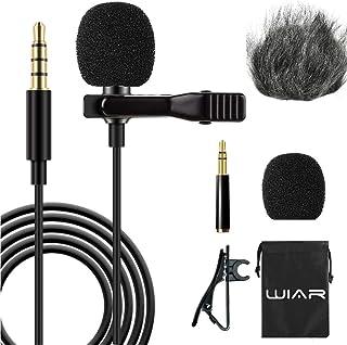 WIAR Microfono para Celular Smartphone YouTube Iphone Cámar
