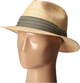 Matte Raffia Safari with 3 Pleat Cotton Band
