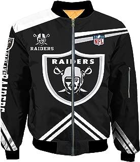 Best oakland raiders jacket 3xl Reviews
