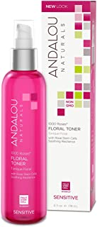Andalou Naturals 1000 Roses Floral Toner, 6 Ounce