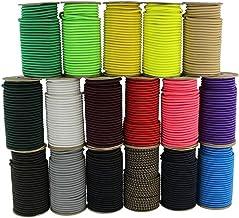 SGT KNOTS Marine Grade Shock Cord - 100% Stretch, Dacron Polyester Bungee voor doe-het-zelf projecten, Tie Downs, commerci...