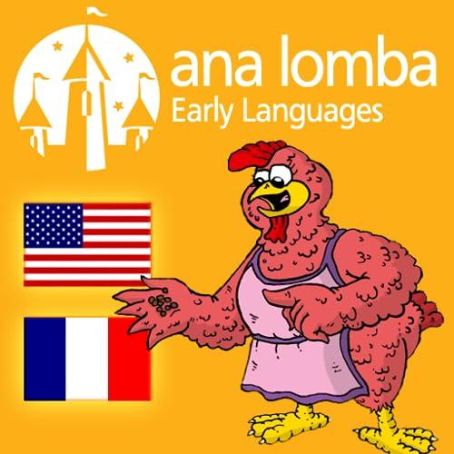 Ana Lomba – La Petite Poule Rousse (Histoire bilingue français - anglais)