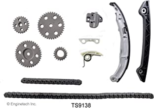ENGINETECH TS9138 ENGINE TIMING KIT W/SPROCKETS & OIL PUMP TIMING compatible with 2001-2011 FORD MAZDA 138 2.3L DOHC L4 DURATEC RANGER B2300