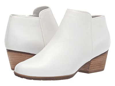 Blondo Villa Waterproof Bootie (White Leather) Women