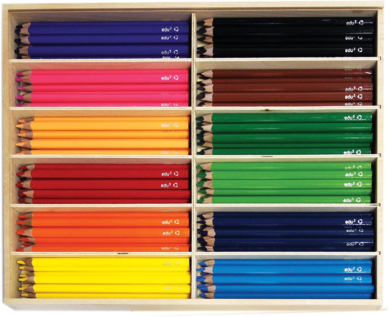 Unbekannt Unbekannt Unbekannt edu³ Jumbo Farbstifte tri H144 B00EHYMYK4 | Genial  2488cb