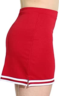 Womens A-Line Cheerleaders Uniform Skirt