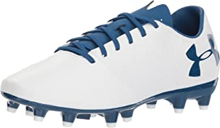 Women's Magnetico Select Firm Ground Soccer Shoe, White/Moroccan Blue