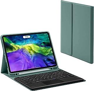 Klawiatura Do IPAD Pro 12.9 Calowa Klawiatura Touchpad Case - Klawiatura Touchpad Bluetooth Slim Folio Smart Skórzana Pokr...