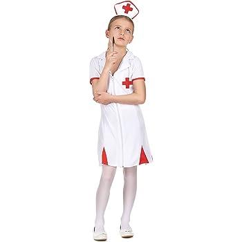 Disfraz enfermera niña 4-6 años (104/116): Amazon.es: Juguetes y ...