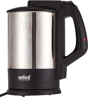 Sanford Stainless Steel Electric Kettle - Sf3347Ek-1.7L Bs Black