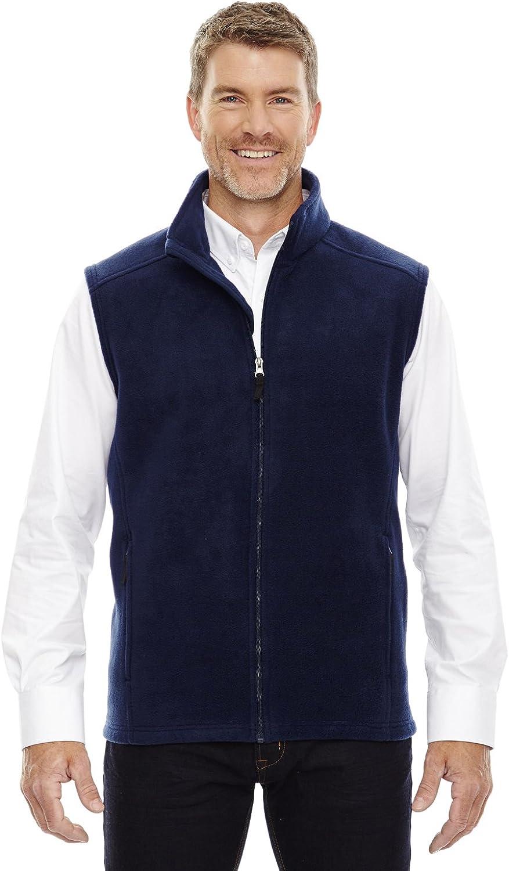 Ash City Core 365 Men's Tall Journey Fleece Vest