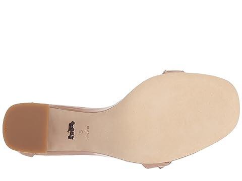 con Firma Patent 85mm Sandalia Maya Blush Hebilla COACH qwHOp8Ttx