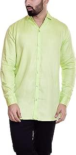 HANDICRAFT-PALACE Men's Cotton Casual Shirt