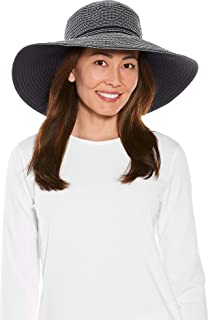 Coolibar UPF 50+ Women's Reversible Zoey Ribbon Hat - Sun Protective