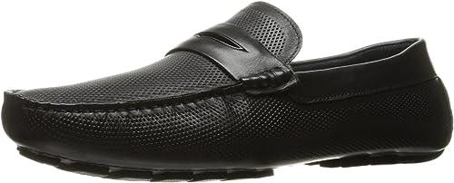ZANZARA Men& 039;s Mondrian Slip-On Loafer, Loafer, Loafer, schwarz, 11.5 M US  Rabatt-Verkauf