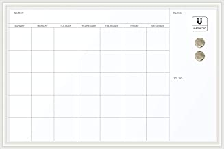 Best calendar dry erase board large Reviews