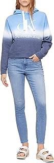 Women's Dip Dye Logo Hoodie Sweatshirt