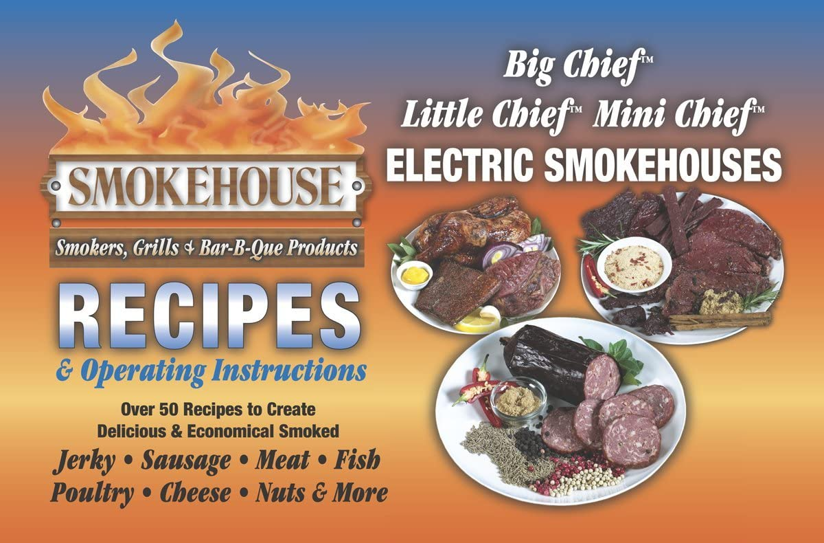 Smokehouse 9990-000-0000 Lowest price challenge Smoker Recipe Book Size One gift