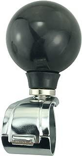 Arenbel Suicide Knob Black Ball Steering Wheel Grip Knobs fit Most Universal Steering Wheels